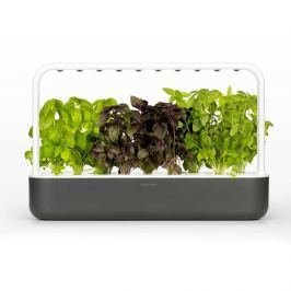 Click and Grow chytrý květináč pro pěstování bylinek, zeleniny, květin a stromů - Smart Garden 9, šedá
