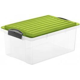 Rotho Úložný box Compact 13 l, zelená