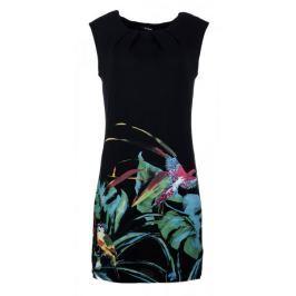 Desigual Dámské šaty Calypso, černé - rozbaleno