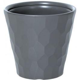J.A.D. TOOLS Květináč Rocka 35 cm, šedá