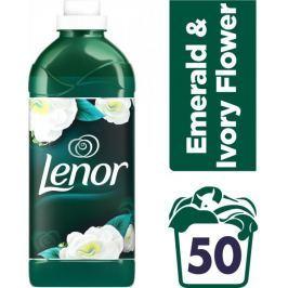 Lenor Emerald and Ivory Flower aviváž 1,5 l (50 praní)