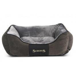 Scruffs Chester Box Bed šedý vel. S