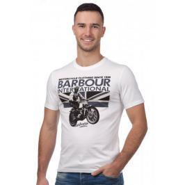 Barbour pánské tričko L bílá