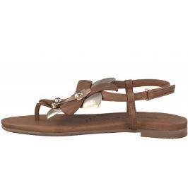 Tamaris dámské sandály Kim 37 hnědá