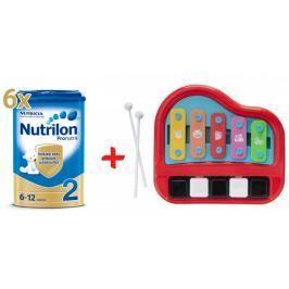 Nutrilon 2 Pronutra - 6 x 800g + Xylofon