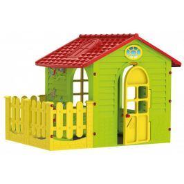 Mochtoys Zahradní domek s plotem - rozbaleno
