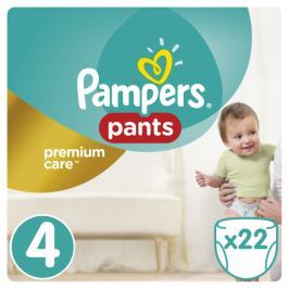 Pampers Pampers Premium kalhotkové plenky Carry Box S4 22ks