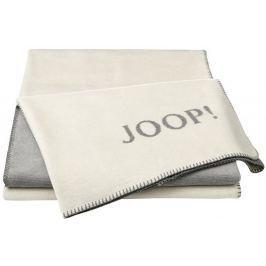 Joop! Melange-Doubleface 150x200 cm, bílá/šedá