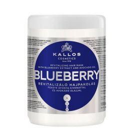 Kallos Revitalizační maska s výtažkem z borůvek (Blueberry Hair Mask) (Objem 1000 ml)