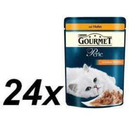 Gourmet Perle s kuřecím masem 24 x 85g