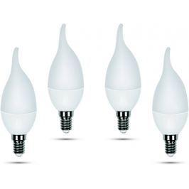 Retlux C35 E14 svíčka plm 5W teplá bílá, 4 ks
