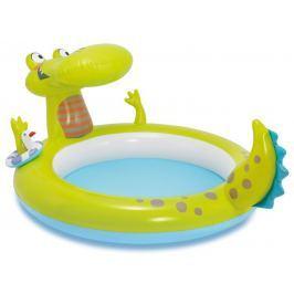 Intex 57431 Bazének krokodýl s vodopádem