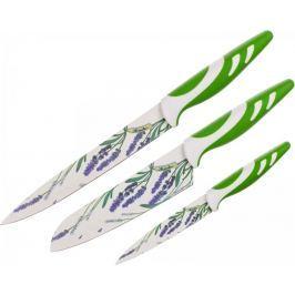 Banquet Sada nožů s nepřilnavým povrchem LAVENDER Green, 3 ks