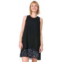 Desigual dámské šaty Besalú 40 černá