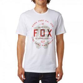 FOX pánské tričko Claw Ss Tee S bílá