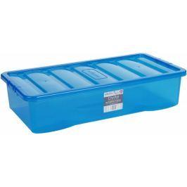WHAM Box s víkem 11313 42L, modrá