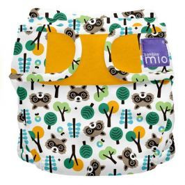 Bambinomio Miosoft plenkové kalhotky, Raccoon Retreat, vel. 1