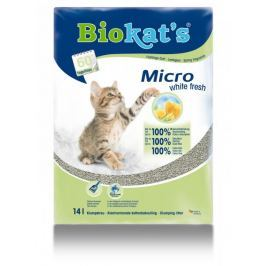 Gimpet Biokat´s Micro White Fresh 14l