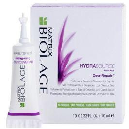 Matrix Intenivní kúra pro suché vlasy Biolage Hydrasource (Cera-Repair) 10 x 10 ml