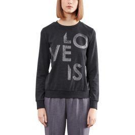 s.Oliver dámské tričko M tmavě šedá
