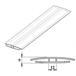 LanitPlast Polykarbonátový H-profil 6 mm 3 m