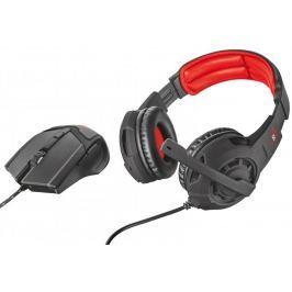 Trust set GXT 784 Gaming Headset & Mouse (21472) Myši, klávesnice