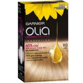 Garnier Permanentní olejová barva na vlasy bez amoniaku Olia (Odstín 1.0 ultra černá) Barvy na vlasy