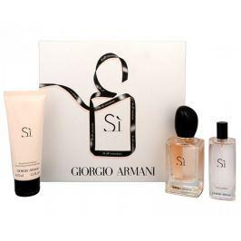 Giorgio Armani Sì - EDP 50 ml + EDP 15 ml + tělové mléko 75 ml