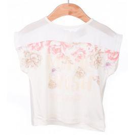 Primigi dívčí tričko 98 smetanová