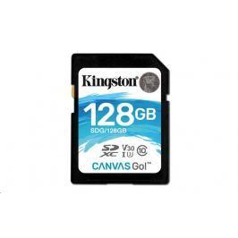 Kingston 128GB Canvas Go! SDXC UHS-I U3 + ad (SDG/128GB) Paměťové karty