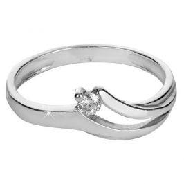 Brilio Silver Něžný stříbrný prsten 426 001 00490 04 - 1,35 g (Obvod 56 mm) stříbro 925/1000