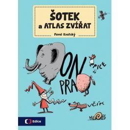 Koutský Pavel: Šotek a atlas zvířat - Pracovní sešit s pohádkovým příběhem a dokreslovačkami, vystři