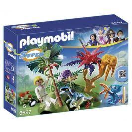 Playmobil 6687 Ztracený ostrov s mimozemšťanem a raptorem Playmobil