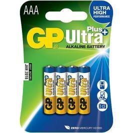 GP Alkalické baterie GP Ultra Plus (AAA), 4 ks