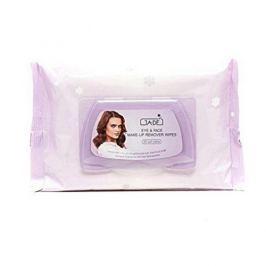 GA-DE Odličovací ubrousky pro všechny typy pleti (Eye & Face Make-Up Remover Wipes) 30 ks
