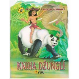 Kniha džunglí - První čtení s velkými písmenky