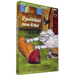 O zvířátkách pana Krbce (2DVD)   - DVD