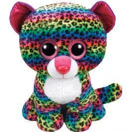 TY Beanie Boos DOTTY - pestrobarevný leopard 62cm