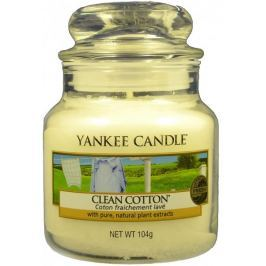 Yankee Candle Clean Cotton Classic malý 104 g