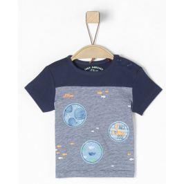 s.Oliver chlapecké tričko 50/56 modrá Produkty