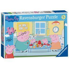 Ravensburger Peppa pig V kuchyni 35 dílků