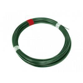 Napínací drát Zn+PVC - zelený, délka 66 m Dráty