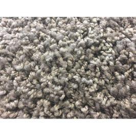 Kusový koberec Color Shaggy šedý, průměr 200 cm