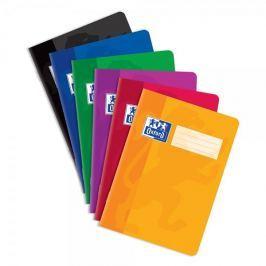 Sešit bezdřevý Oxford 444 - A4 linkovaný, 40 listů, mix barev
