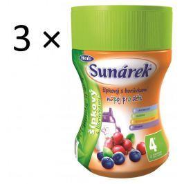 Sunárek Instantní nápoj Dobré ráno, šípek-borůvka, 3×200g