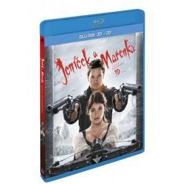 Jeníček a Mařenka: Lovci čarodějnic  3D+2D (2BD)   - Blu-ray