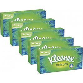 Kleenex Balsam Papírové kapesníčky Box 5x 80 ks