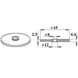 LanitPlast Gumové těsnění V11 pro FeZn podložky (10 ks)