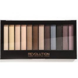Makeup Revolution Paletka matných očních stínů Essential Mattes