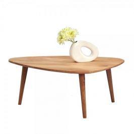 Artenat Konferenční stolek z masivu Elen, 90 cm, divoký dub